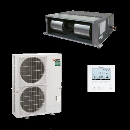 Mr.Slim kanaal-unit -19/+22kW standaard inverter (R32)