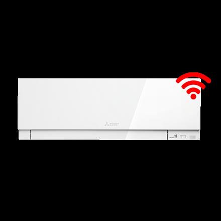 RAC Design 5,0 kW wandunit wit incl. wifi