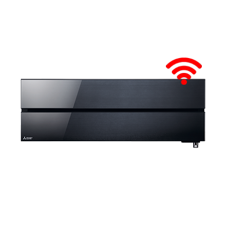 RAC Diamond 5,0 kW wandunit Onyx Black