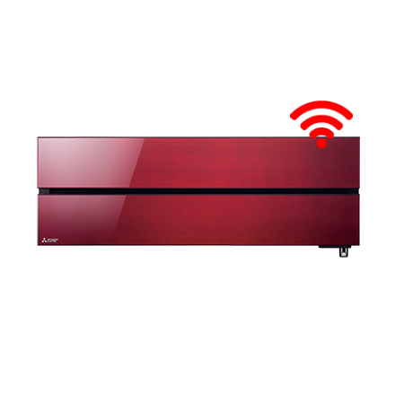 RAC Diamond 5,0 kW wandunit Ruby Red