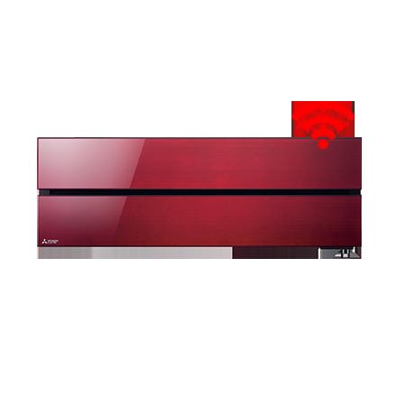 RAC Diamond 6,0 kW wandunit Ruby Red