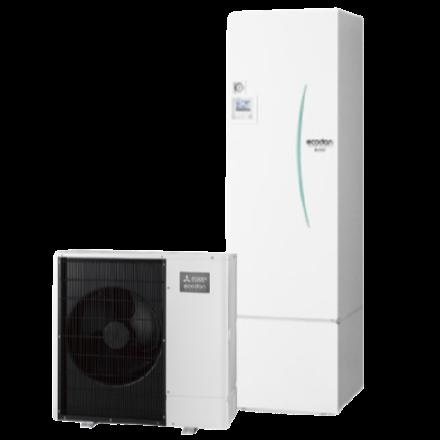Warmtepomp (lucht/water) monobloc uitvoering