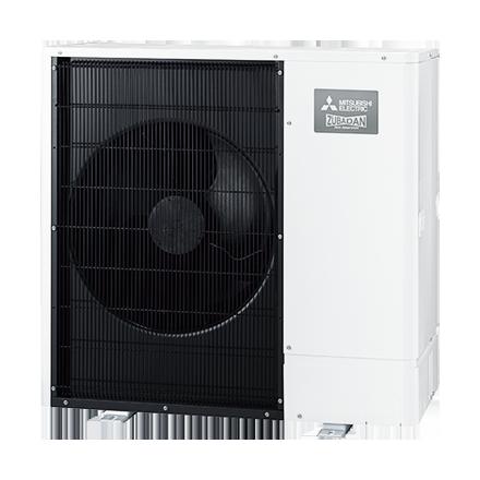 Ecodan Zubadan Inverter Warmtepomp SHW80 YAA