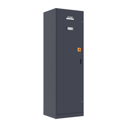 s-MEXT-G00 Downflow-unit 6,8 kW incl. opties (R32)